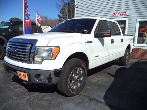 2011 Ford F-150 for sale at H and H Truck Center in Newport News VA