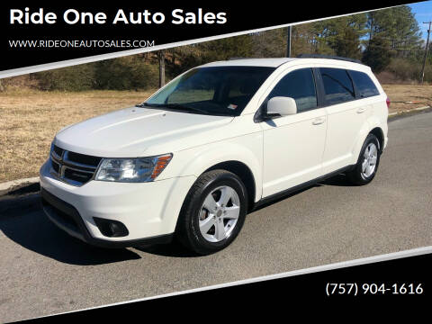 2012 Dodge Journey for sale at Ride One Auto Sales in Norfolk VA
