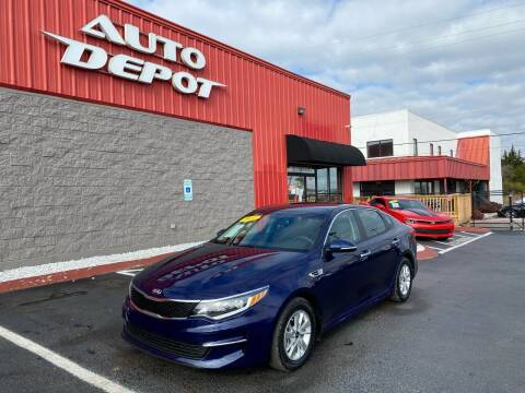 2017 Kia Optima for sale at Auto Depot - Nashville in Nashville TN