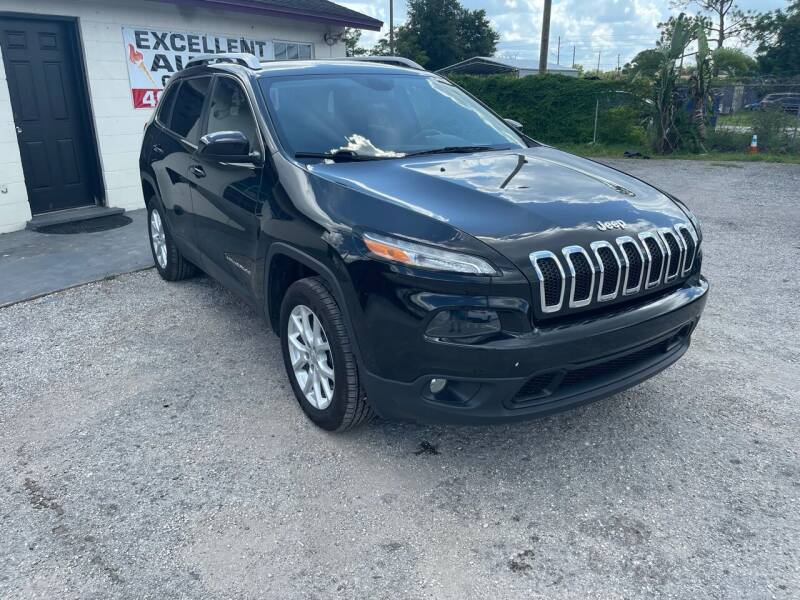 2017 Jeep Cherokee for sale at Excellent Autos of Orlando in Orlando FL