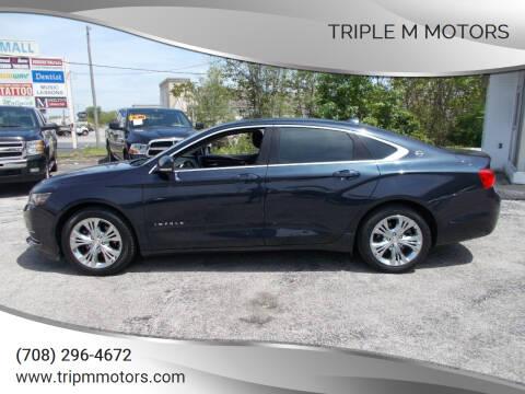 2014 Chevrolet Impala for sale at Triple M Motors in Saint John IN
