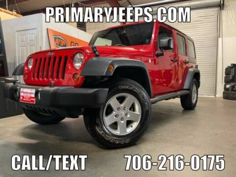 2013 Jeep Wrangler Unlimited for sale at Primary Auto Group in Dawsonville GA
