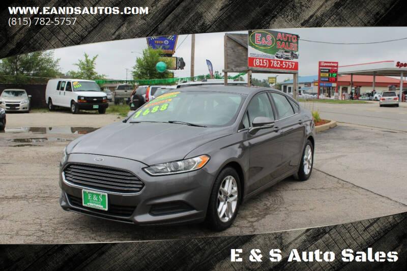 2013 Ford Fusion for sale at E & S Auto Sales in Crest Hill IL