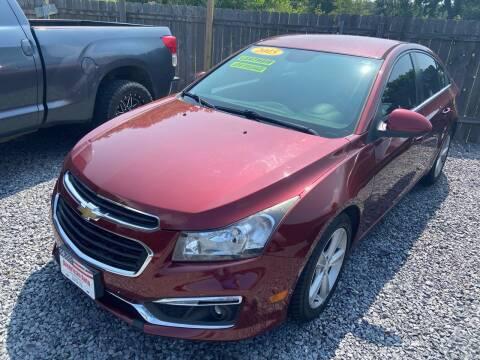 2015 Chevrolet Cruze for sale at American Auto in Rayville LA