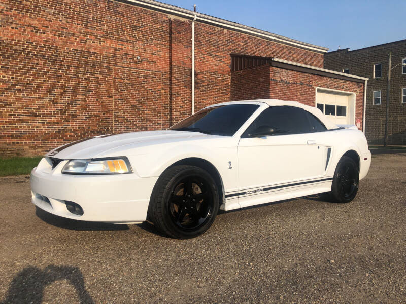 1999 Ford Mustang SVT Cobra for sale at Jim's Hometown Auto Sales LLC in Byesville OH