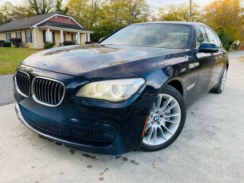 2013 BMW 7 Series for sale at Cobb Luxury Cars in Marietta GA