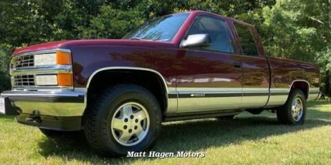 1995 Chevrolet C/K 1500 Series for sale at Matt Hagen Motors in Newport NC