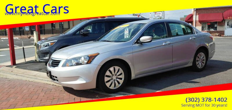 2009 Honda Accord for sale at Great Cars in Middletown DE
