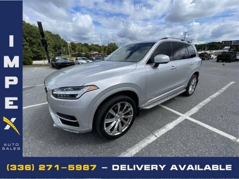 2016 Volvo XC90 for sale at Impex Auto Sales in Greensboro NC