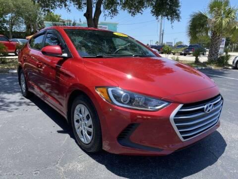 2018 Hyundai Elantra for sale at Palm Bay Motors in Palm Bay FL
