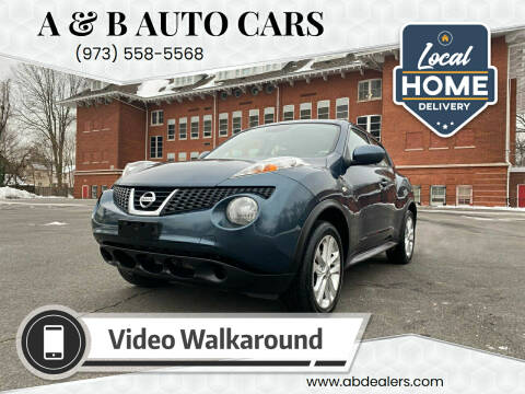 2014 Nissan JUKE for sale at A & B Auto Cars in Newark NJ