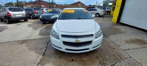 2012 Chevrolet Malibu for sale at Frankies Auto Sales in Detroit MI