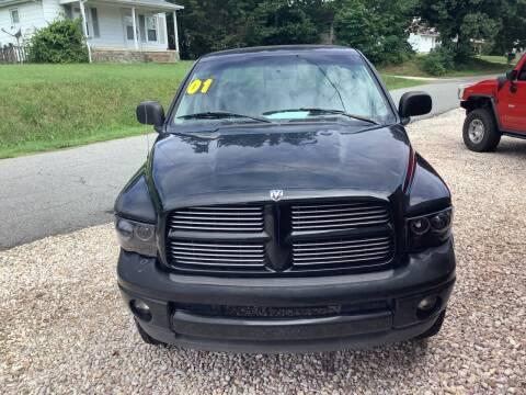 2002 Dodge Ram Pickup 1500 for sale at Moose Motors in Morganton NC