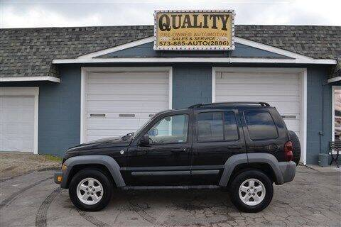 2005 Jeep Liberty for sale at Quality Pre-Owned Automotive in Cuba MO