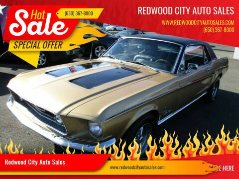 1968 Ford Mustang for sale at Redwood City Auto Sales in Redwood City CA