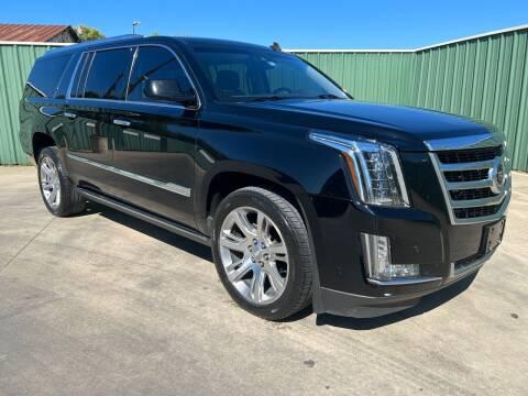 2015 Cadillac Escalade ESV for sale at Triple C Auto Sales in Gainesville TX