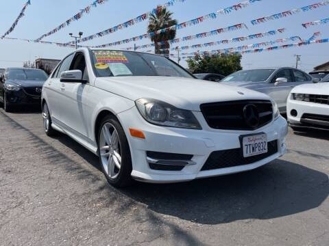 2014 Mercedes-Benz C-Class for sale at Tristar Motors in Bell CA