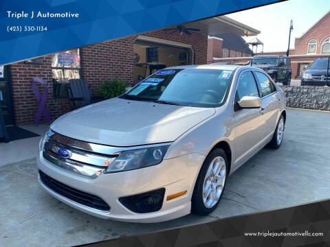 2010 Ford Fusion for sale at Triple J Automotive in Erwin TN