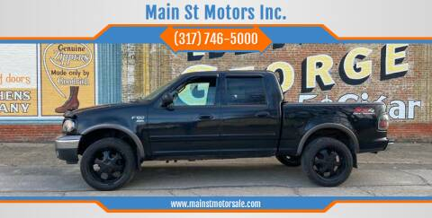 2003 Ford F-150 for sale at Main St Motors Inc. in Sheridan IN