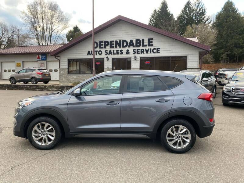 2016 Hyundai Tucson for sale at Dependable Auto Sales and Service in Binghamton NY