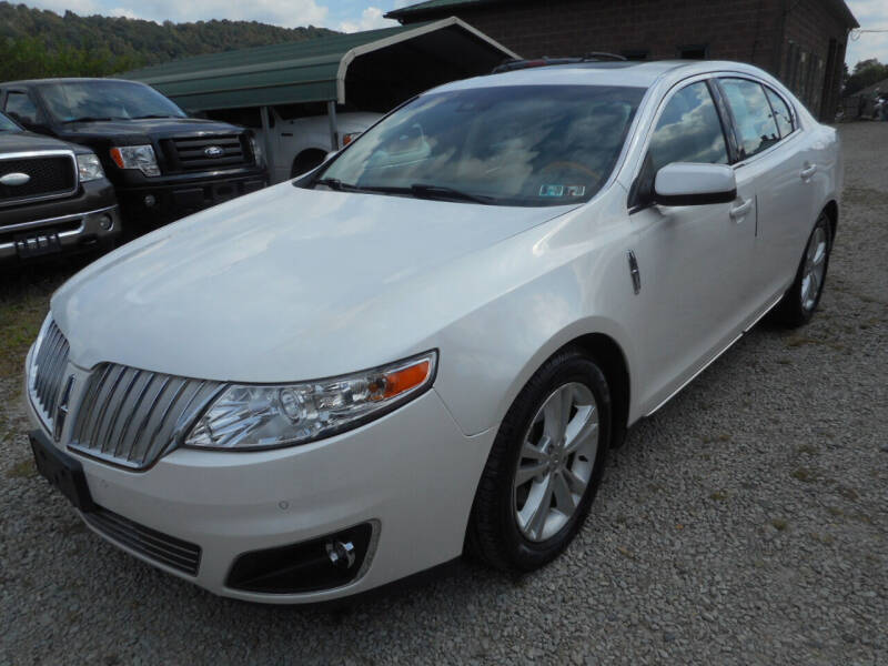 2010 Lincoln MKS for sale at Sleepy Hollow Motors in New Eagle PA