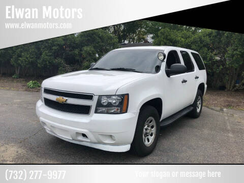 2013 Chevrolet Tahoe for sale at Elwan Motors in West Long Branch NJ