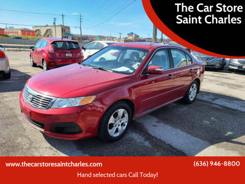 2009 Kia Optima for sale at The Car Store Saint Charles in Saint Charles MO