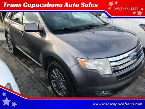 2009 Ford Edge for sale at Trans Copacabana Auto Sales in Hollywood FL