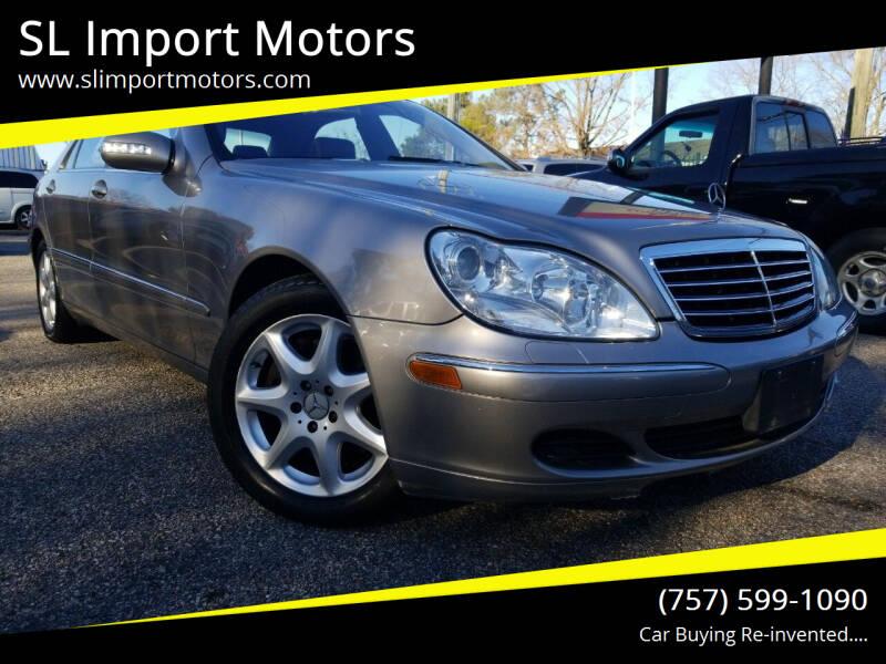 2006 Mercedes-Benz S-Class for sale at SL Import Motors in Newport News VA