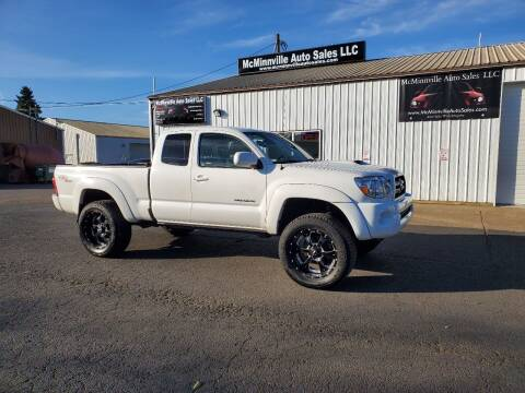2007 Toyota Tacoma for sale at McMinnville Auto Sales LLC in Mcminnville OR