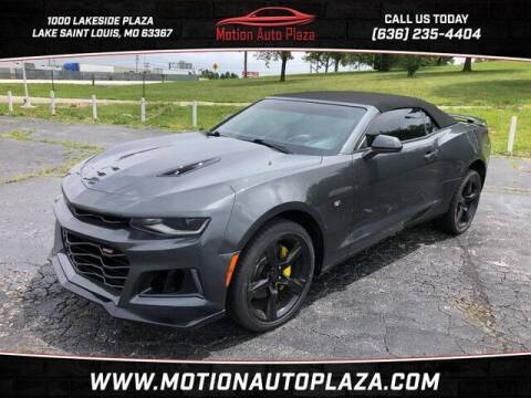 2016 Chevrolet Camaro for sale at Motion Auto Plaza in Lakeside MO
