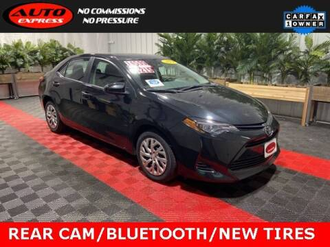 2019 Toyota Corolla for sale at Auto Express in Lafayette IN