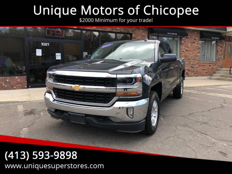 2017 Chevrolet Silverado 1500 for sale at Unique Motors of Chicopee in Chicopee MA
