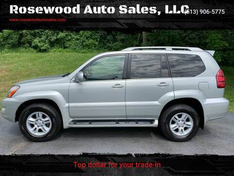 2003 Lexus GX 470 for sale at Rosewood Auto Sales, LLC in Hamilton OH