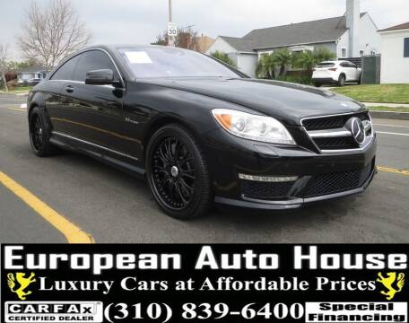 2012 Mercedes-Benz CL-Class for sale at European Auto House in Los Angeles CA