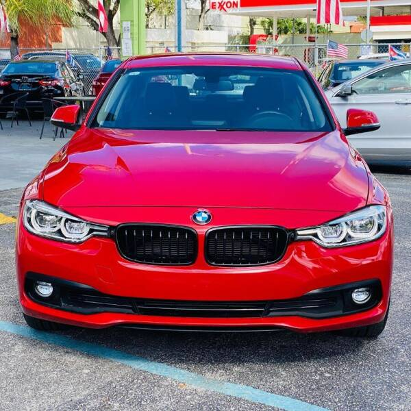 2018 BMW 3 Series for sale at CHASE MOTOR in Miami FL