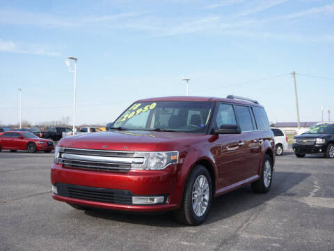 2018 Ford Flex for sale at FOWLERVILLE FORD in Fowlerville MI