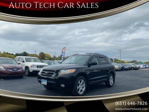 2007 Hyundai Santa Fe for sale at Auto Tech Car Sales in Saint Paul MN