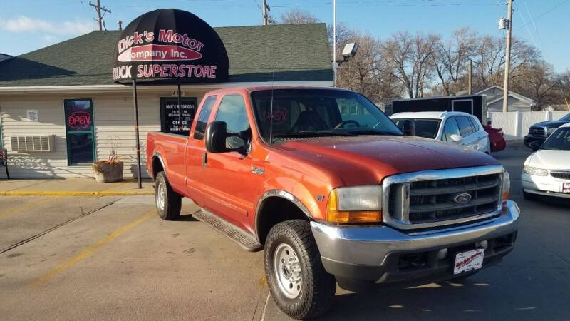 2001 Ford F-250 Super Duty for sale at DICK'S MOTOR CO INC in Grand Island NE