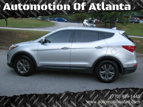 2016 Hyundai Santa Fe Sport for sale at Automotion Of Atlanta in Conyers GA