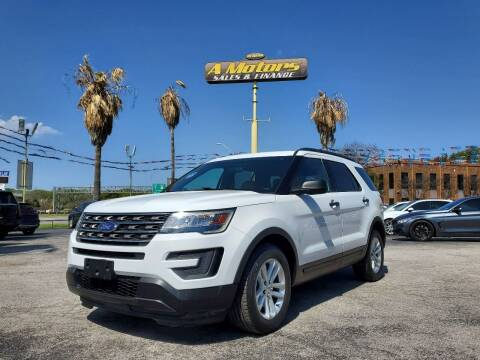 2017 Ford Explorer for sale at A MOTORS SALES AND FINANCE in San Antonio TX