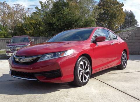 2017 Honda Accord for sale at Ingram Motor Sales in Crossville TN