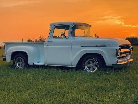 1957 Ford F-100 for sale at Classic Car Deals in Cadillac MI