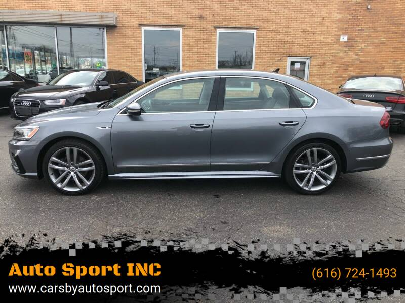 2017 Volkswagen Passat for sale at Auto Sport INC in Grand Rapids MI
