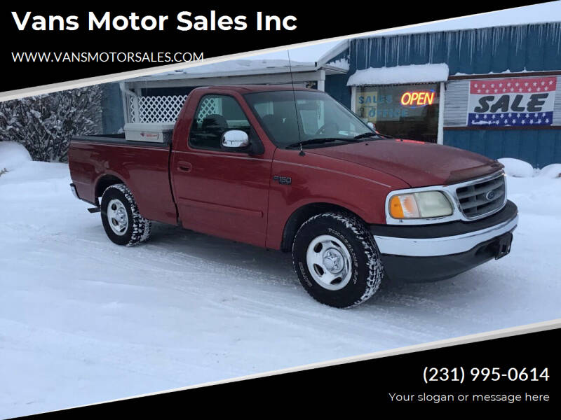 2000 Ford F-150 for sale at Vans Motor Sales Inc in Traverse City MI