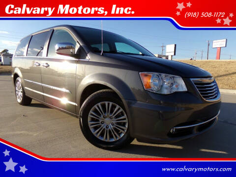 2016 Chrysler Town and Country for sale at Calvary Motors, Inc. in Bixby OK
