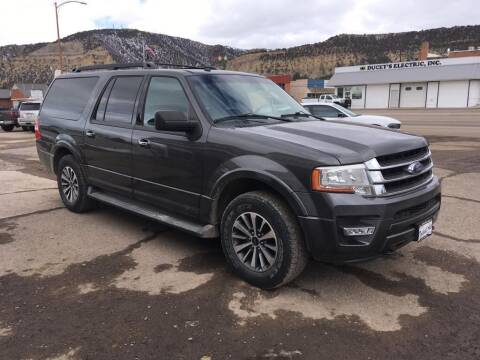 2016 Ford Expedition EL for sale at Northwest Auto Sales & Service Inc. in Meeker CO