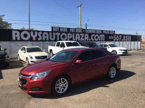 2014 Chevrolet Malibu for sale at Roy's Auto Plaza 2 in Amarillo TX