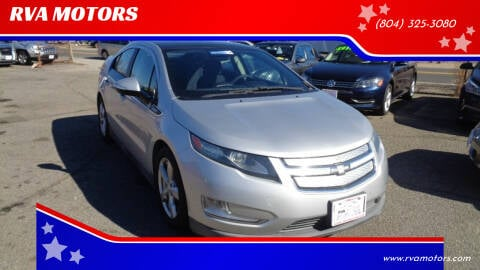2012 Chevrolet Volt for sale at RVA MOTORS in Richmond VA
