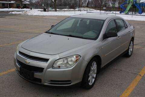 2008 Chevrolet Malibu for sale at A-Auto Luxury Motorsports in Milwaukee WI